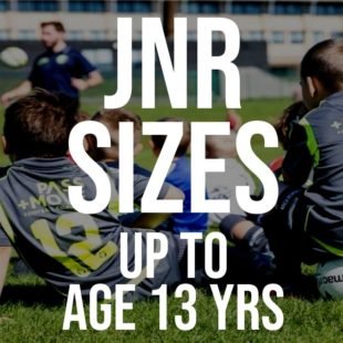 JNR Sizes up to age 13yrs